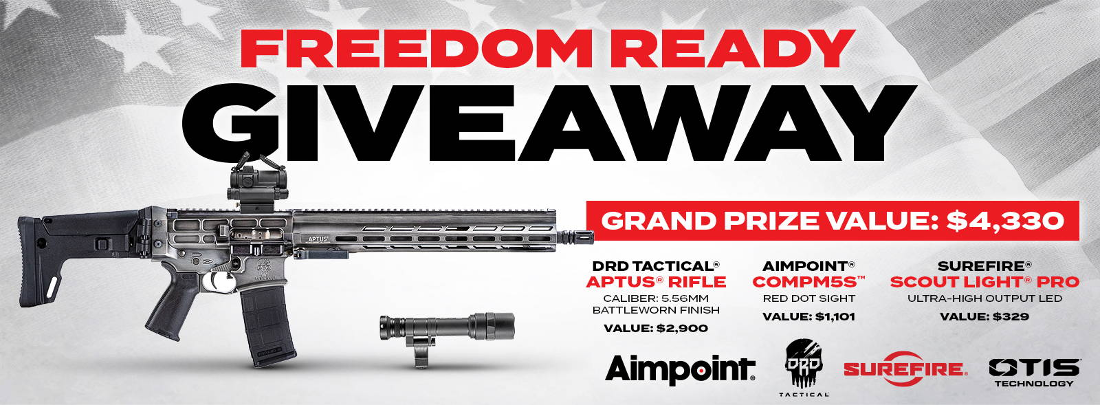 Freedom Ready Giveaway