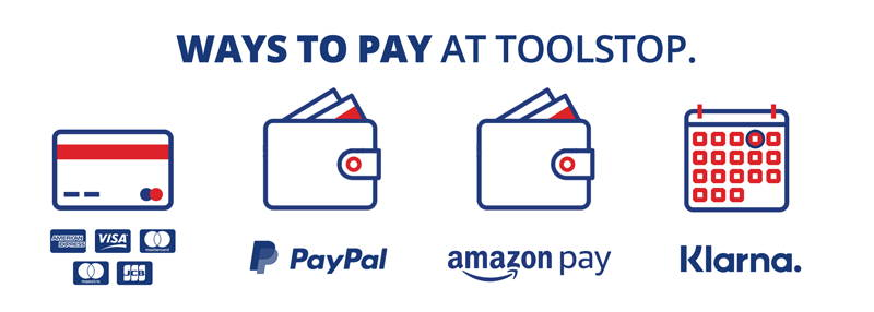 Ways to Pay at Toolstop