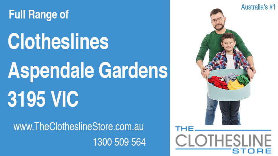 New Clotheslines in Aspendale Gardens Victoria 3195