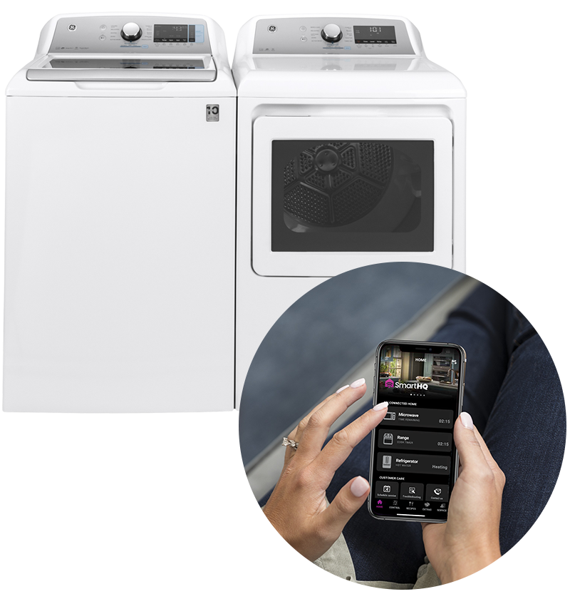 GE Smart Laundry with Smart H Q App