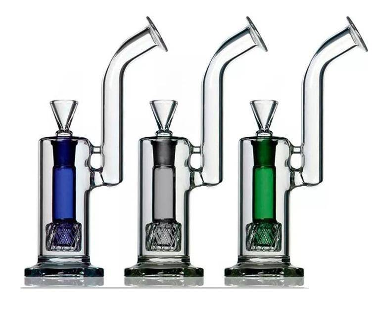 Boo Glass Upright Reti Perc Bubbler