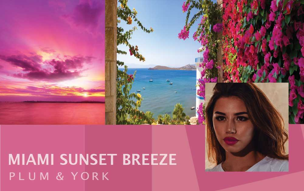 Miami Sunset Breeze lipstick by Plum & York