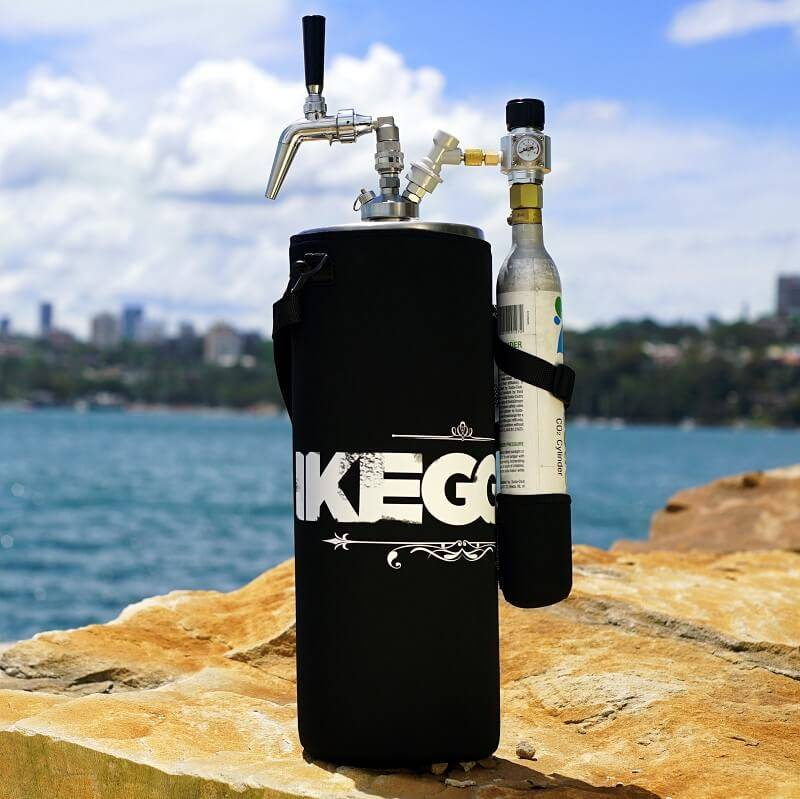 2x10L Mini Keg Beer Growler and CO2 Dispenser 20L