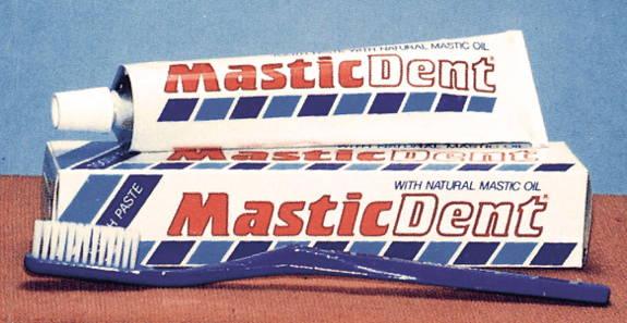 οδοντόκρεμα με μαστίχα χίου, mastic toothpaste, toothpast with mastic