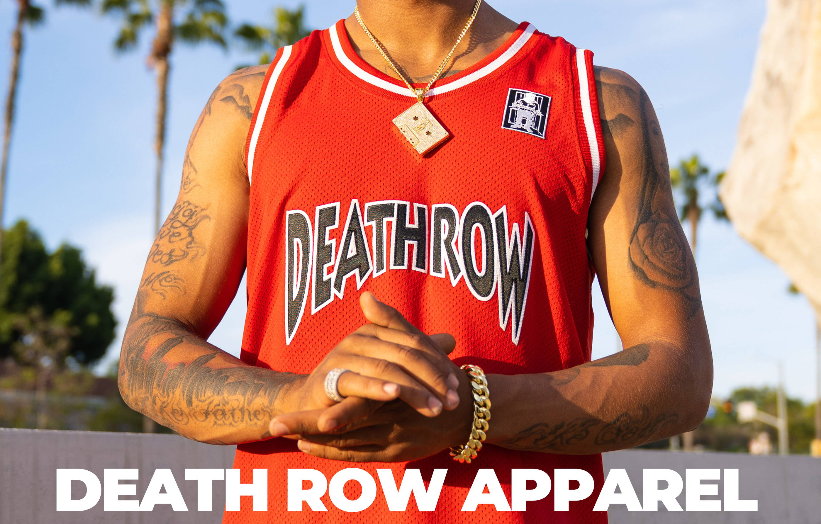 Death Row Apparel Lookbook Header