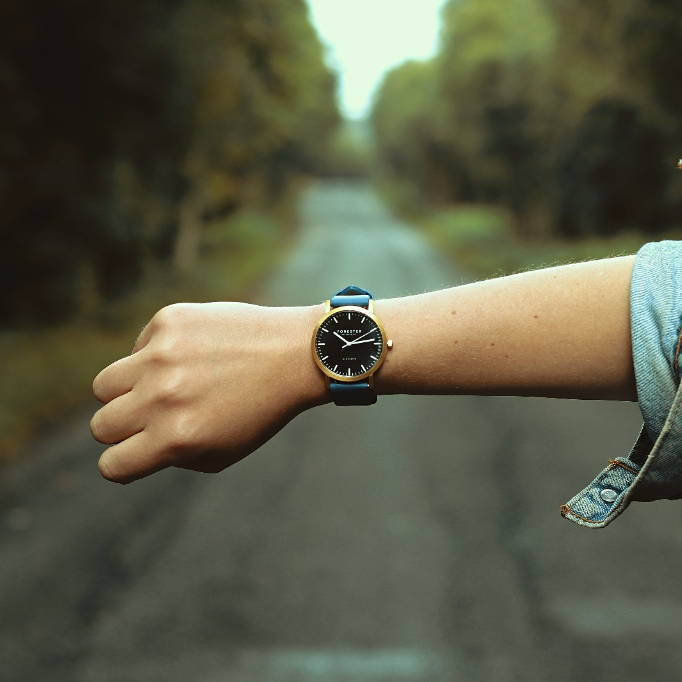 Forester Products Vegan Leather Watch