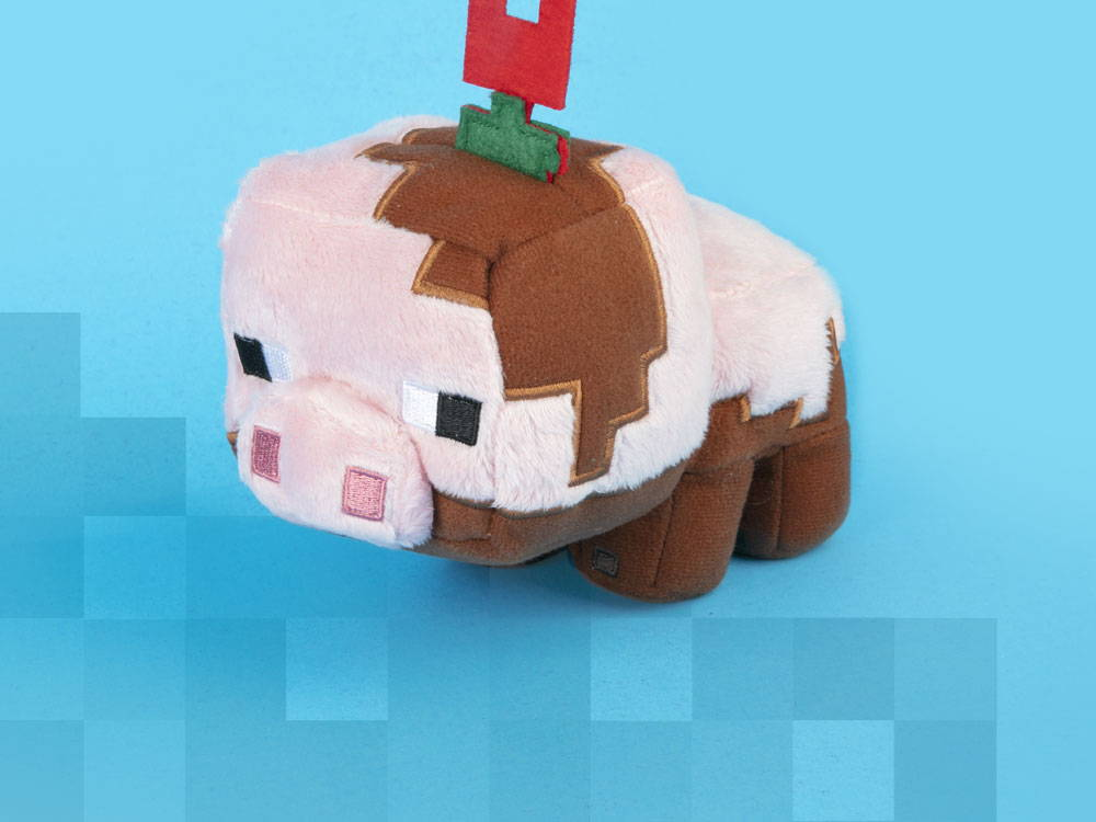 Minecraft Earth Happy Explorer Muddy Pig Plush
