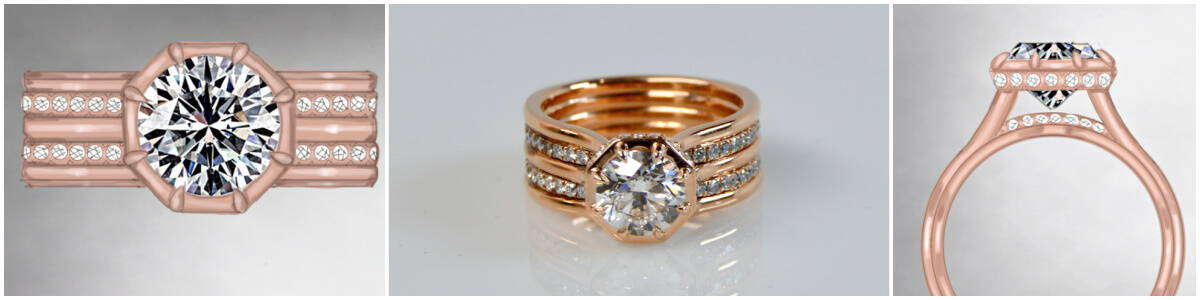 tenth anniversary engagement ring upgrade