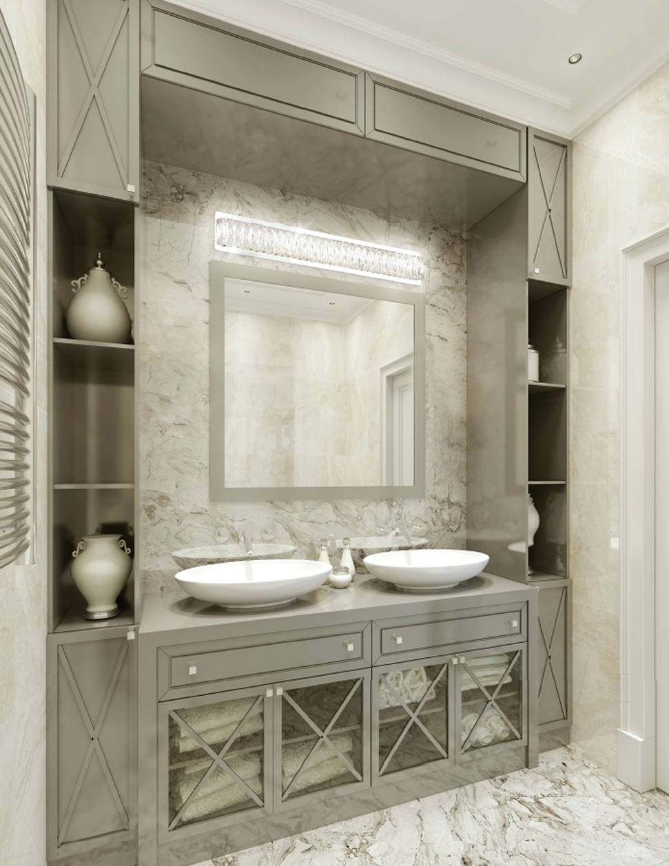 Kuzco Solaris Lighting Bathroom Sconce