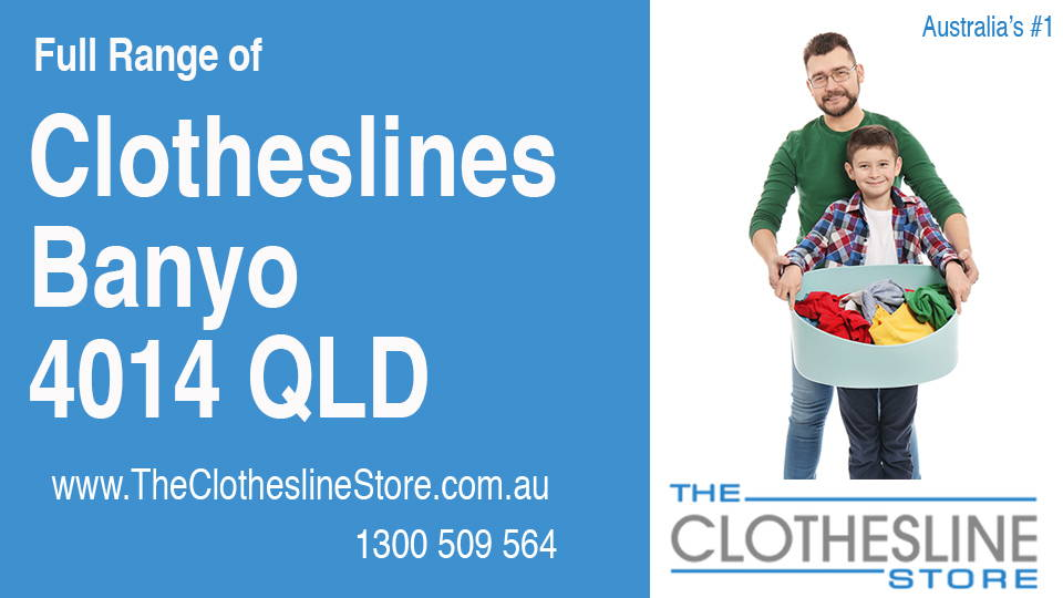 New Clotheslines in Banyo Queensland 4014
