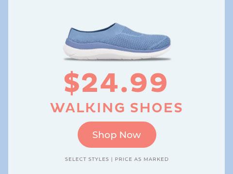 $24.99 Walking Shoes