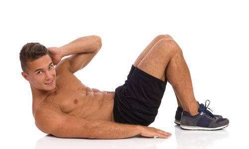 Exercice abdo six pack : crunch latéral