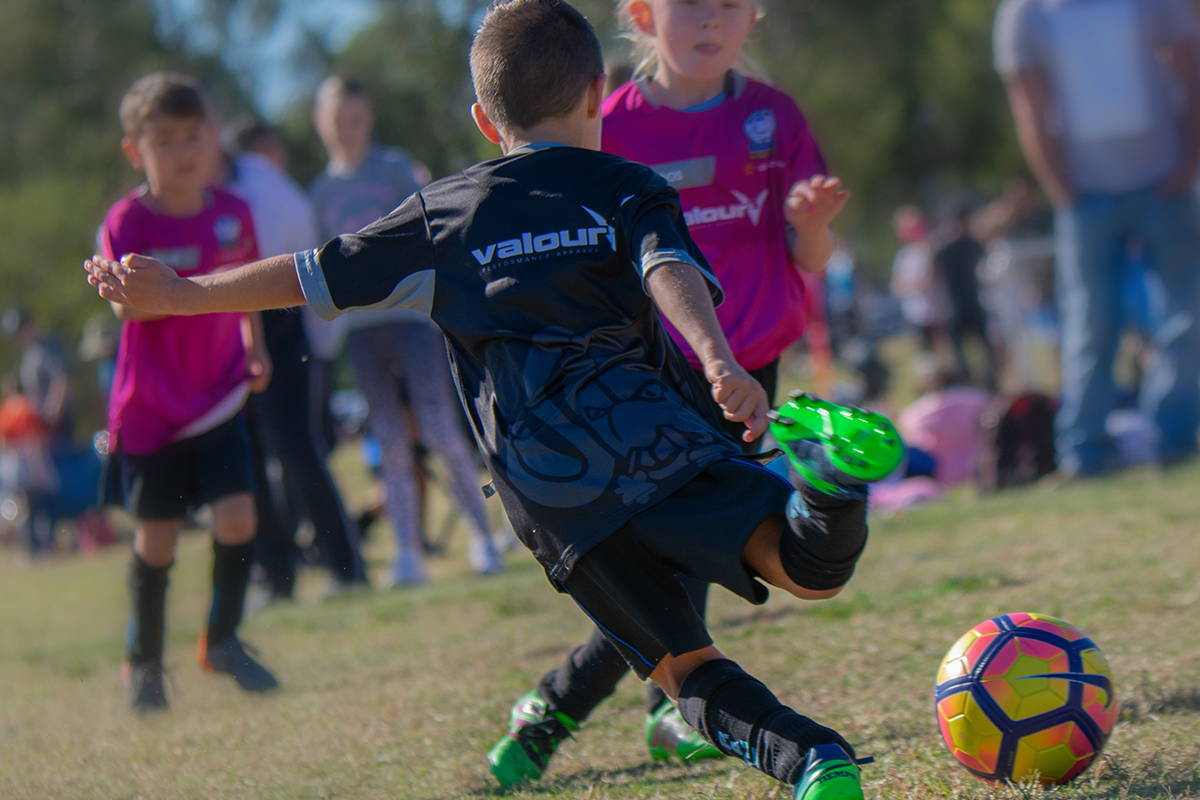 Valour sportswear will withstand the rigorous demands of all sports, played by all ages.