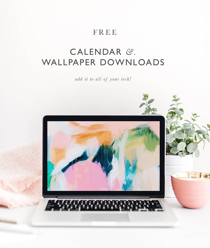 Free calendar and wallpaper downloads #art via Parima Studio