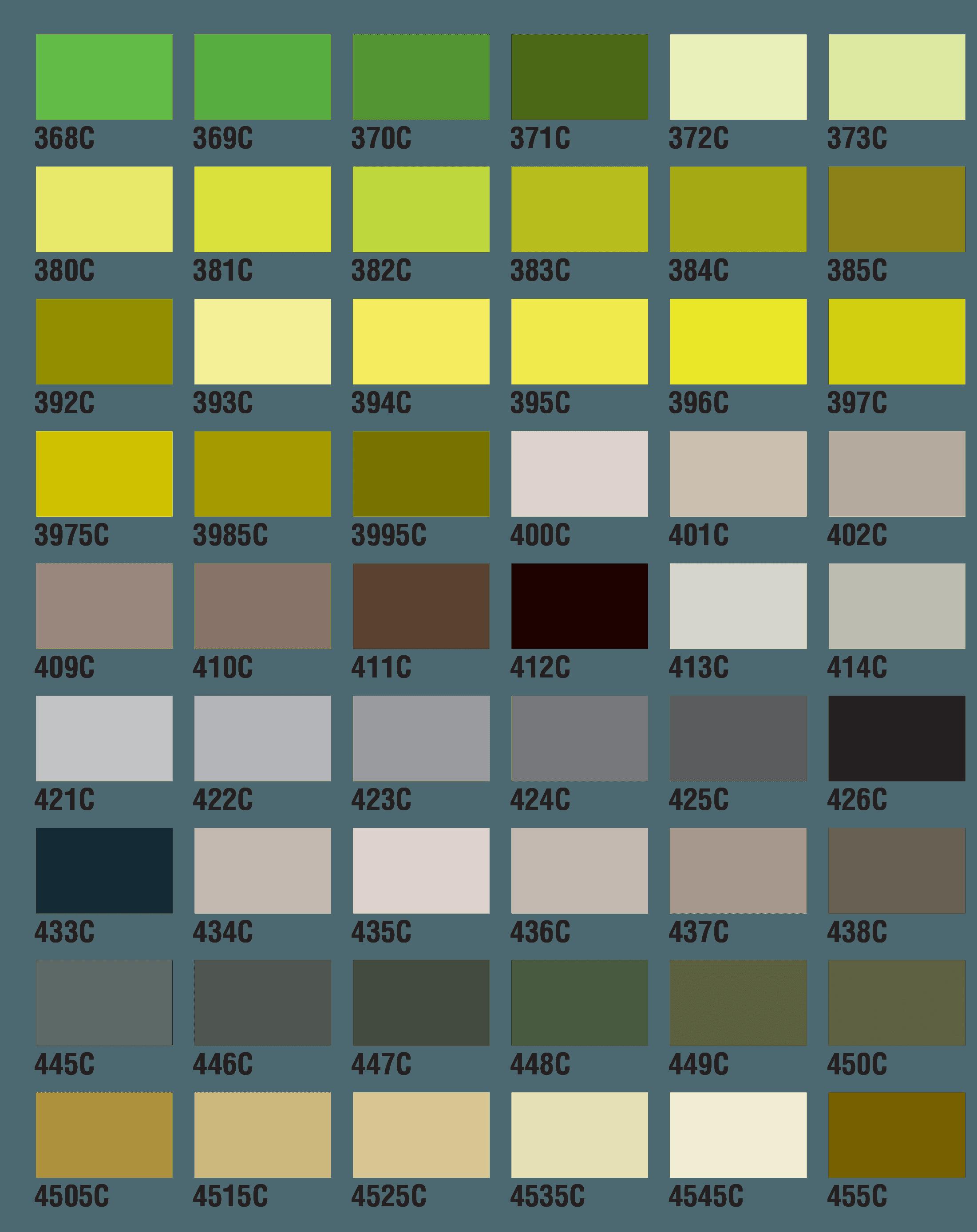 PMS Colors 9