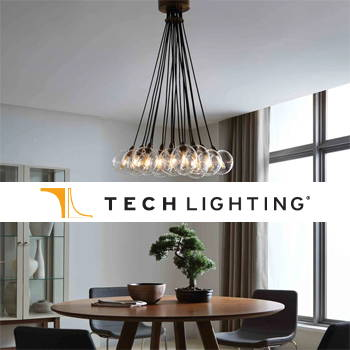 TECH LIGHTING MODERN HOME AND OFFICE TRACK AND PENDANT LIGHTING