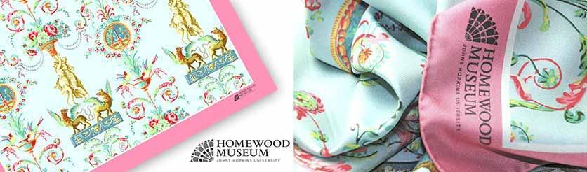 Museum custom scarves - Silk Twill- Square