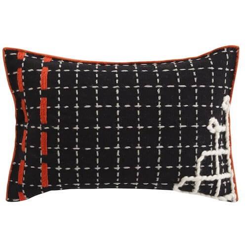 GAN Rugs Bandas Pillow D