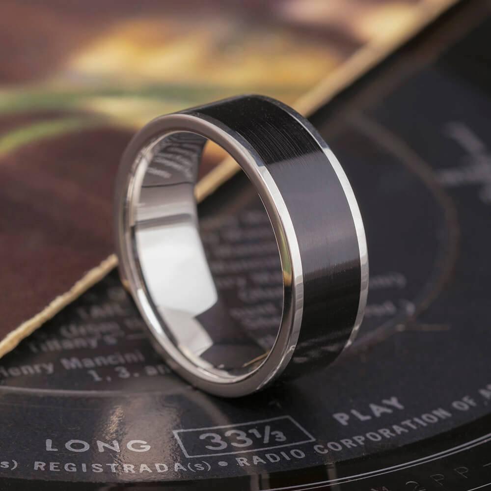 Vinyl Record Ring