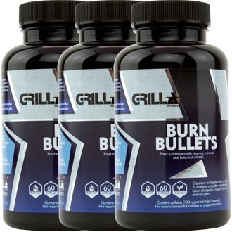 Burn Bullets Tripple Pack