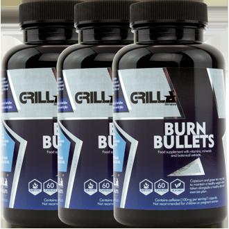 Burn Bullets Tripple Pack