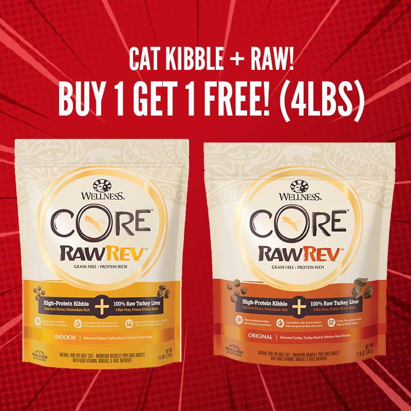 11.11 pawpy kisses wellness rawrev cat food promotion