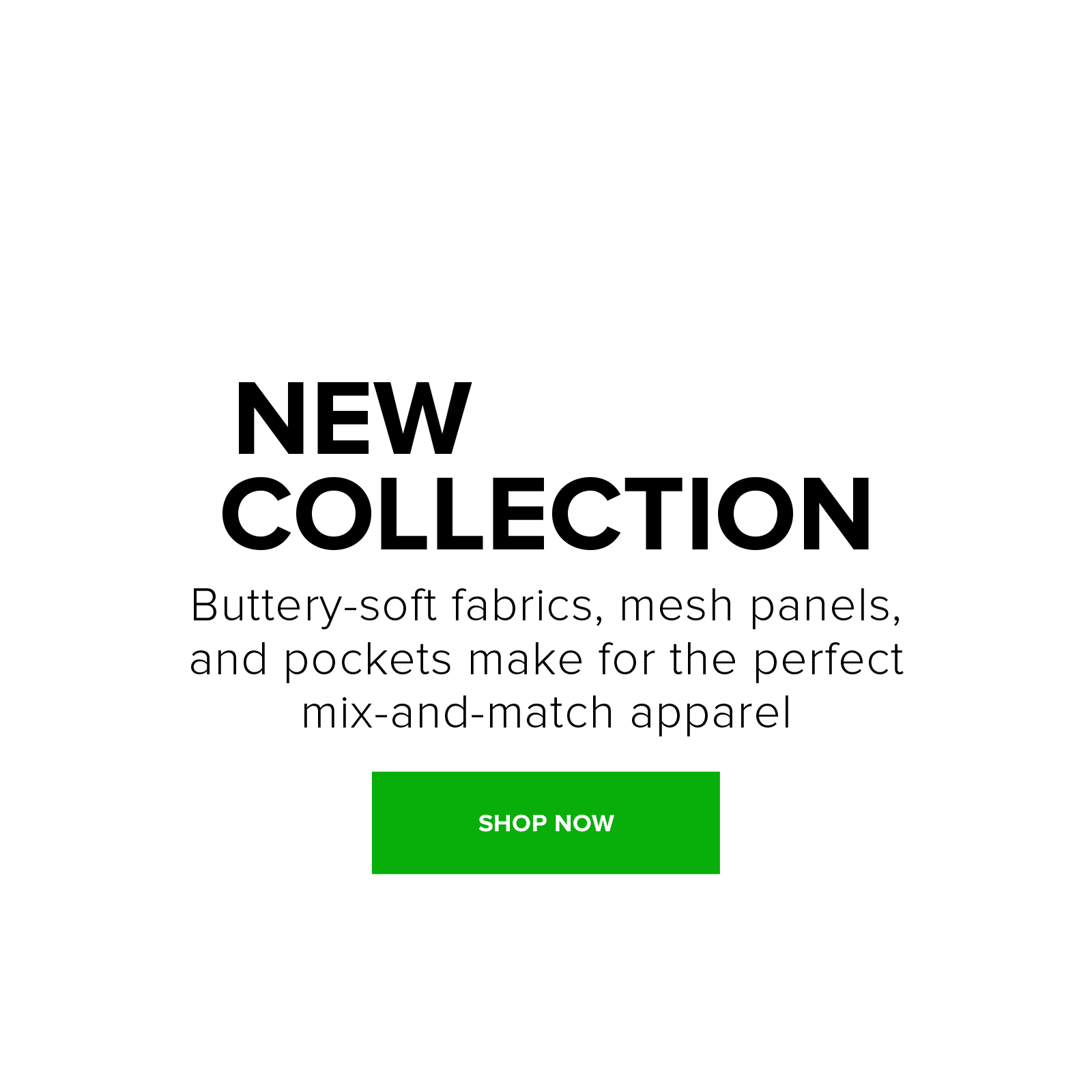 Shop the new apparel Bailey Collection