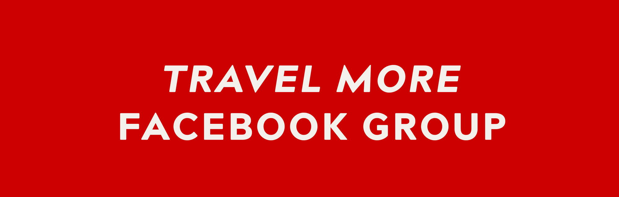 LOCTOTE Travel More Facebook group