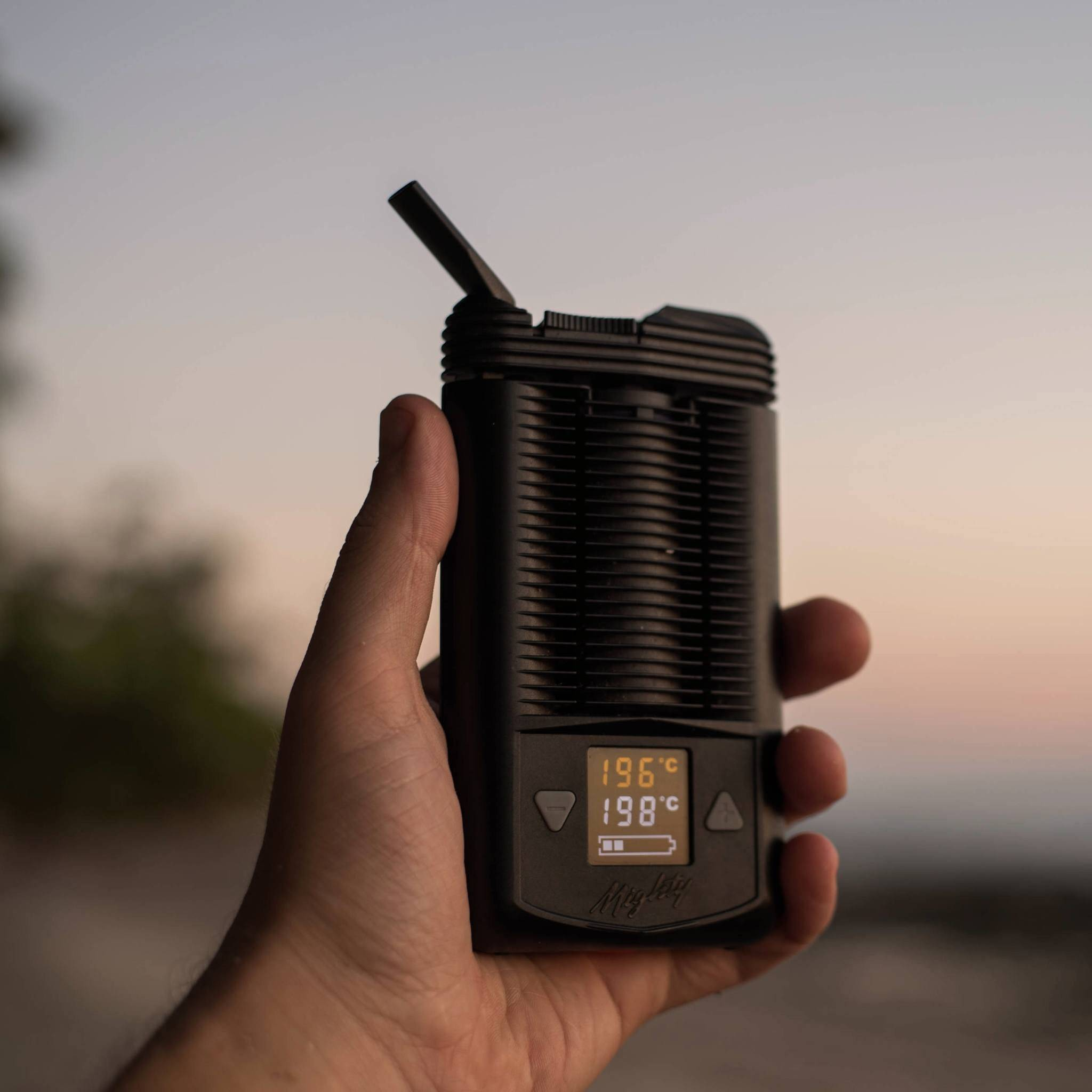 Shop Storz & Bickel Mighty Vaporizer at DopeBoo.com - Great for Nature Vacations on the Hiking Trails! Gen X Guide