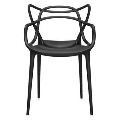 Modern Black Outdoor Dining Chairs