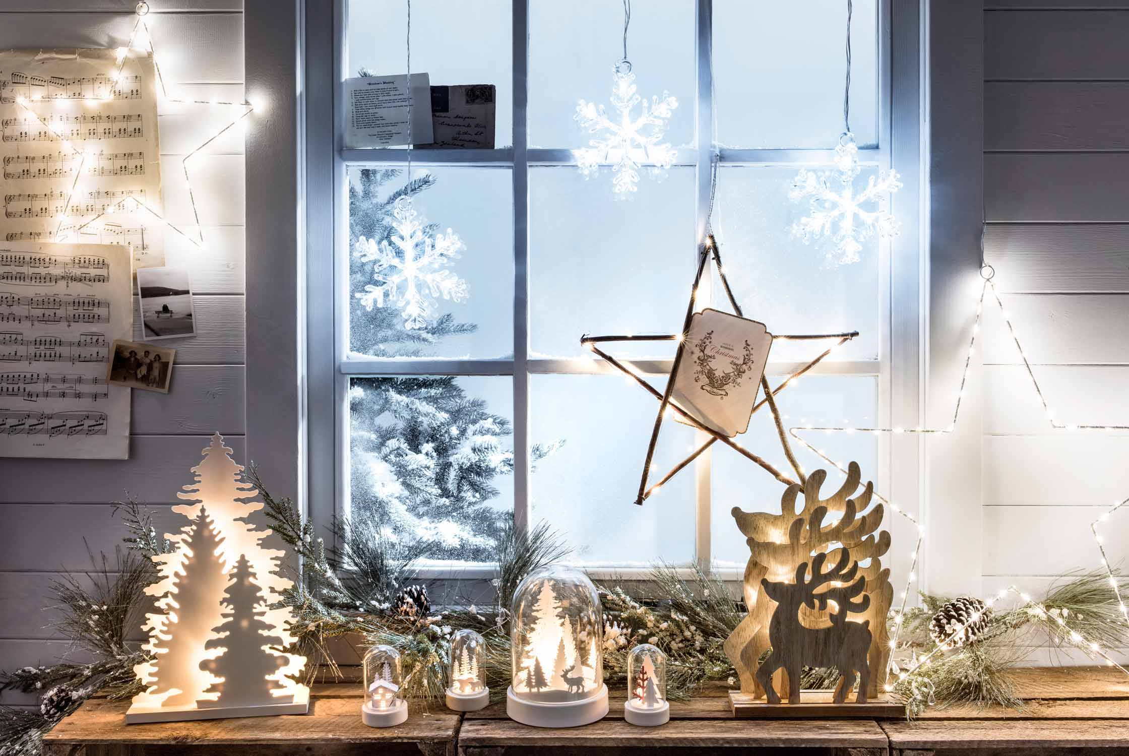 Christmas Window Light Ideas Amp Lights4fun Co Uk