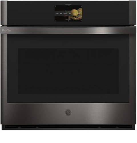 GE Profile Single Wall Oven on white background