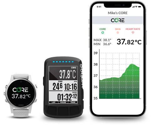 coretemperature smart phone