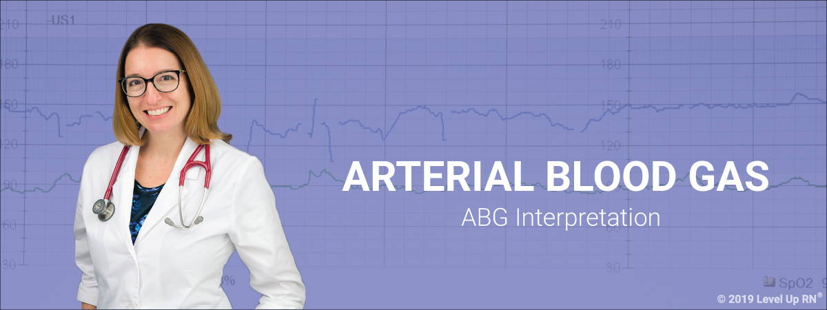 LevelUpRN Arterial Blood Gas Banner
