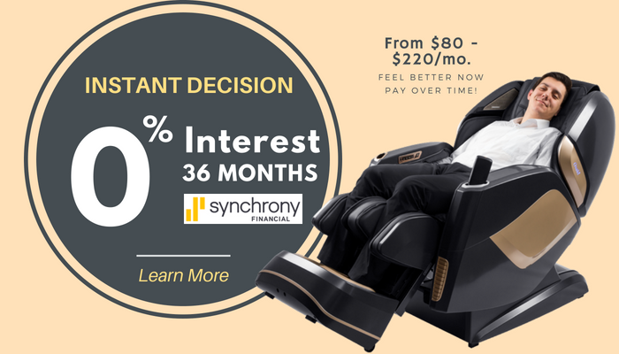 Finance Your Massage Chair Today and Save $