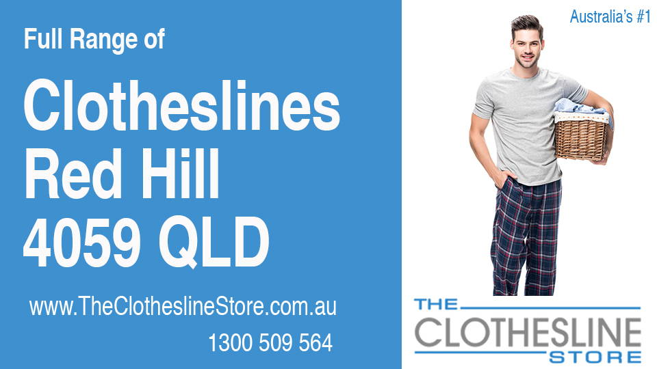 New Clotheslines in Red Hill Queensland 4059