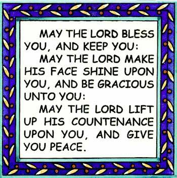 Ceramic tiles with blessings and verses ready to hang and for gifts