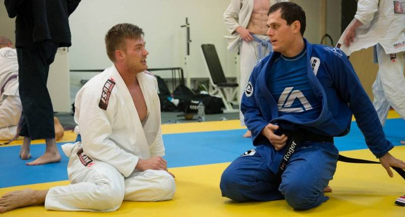 Roger Gracie black belt from ChokeSports.com