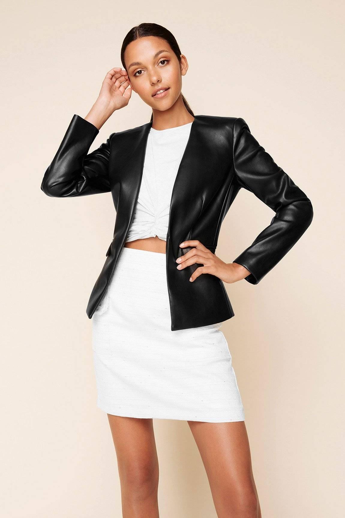 SHEIKE-Gotham-Faux-Leather-Jacket