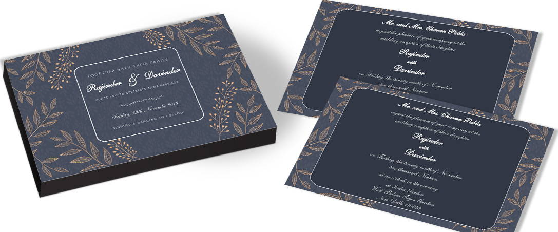 Elegant Wedding Invitations In India