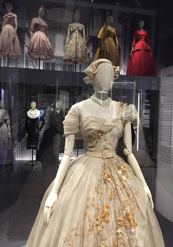 Princess Margaret's 21st Birthday Dress, designed by Christian Dior