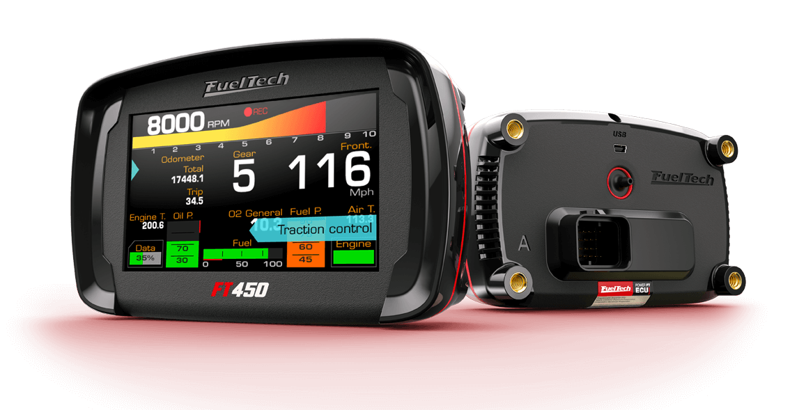 Fueltech debuts new software for ft600 and ft500 ecu modules.