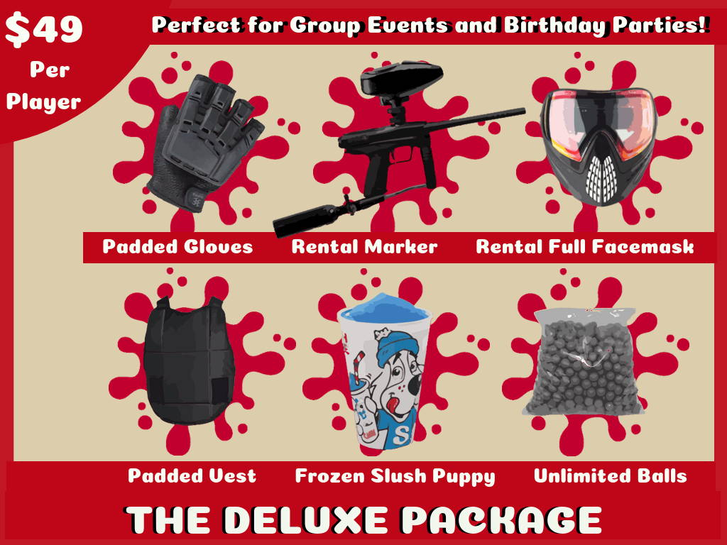 Paintball Birthday Parties In San Diego