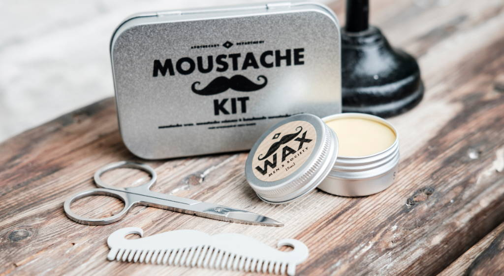 Moustache Grooming Kit | How To Groom A Moustache