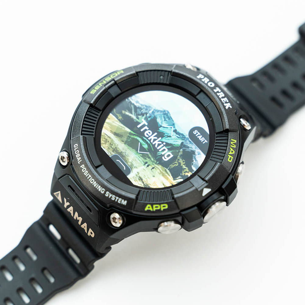 CASIO PRO TREK Smart『WSD-F21HR』と、山を登ってみよう