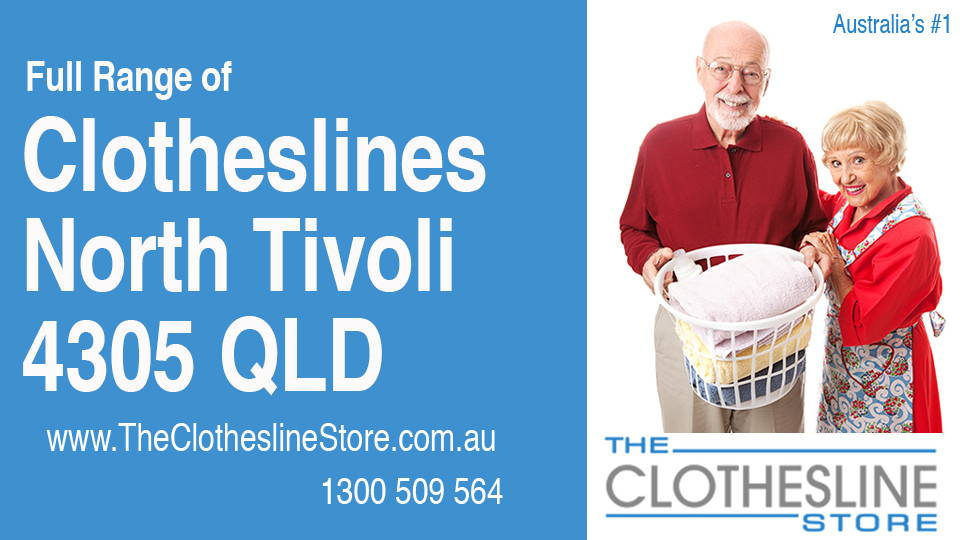 New Clotheslines in North Tivoli Queensland 4305