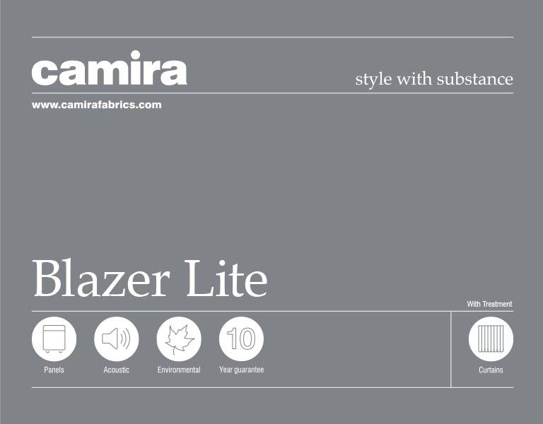 Click here to view the Camira Blazer Lite Acoustic Fabric Swatch