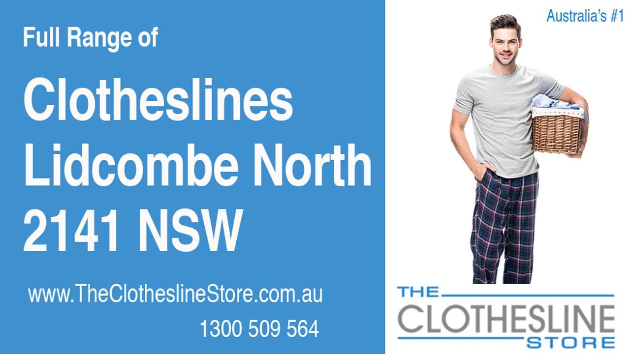 Clotheslines Lidcombe North 2141 NSW