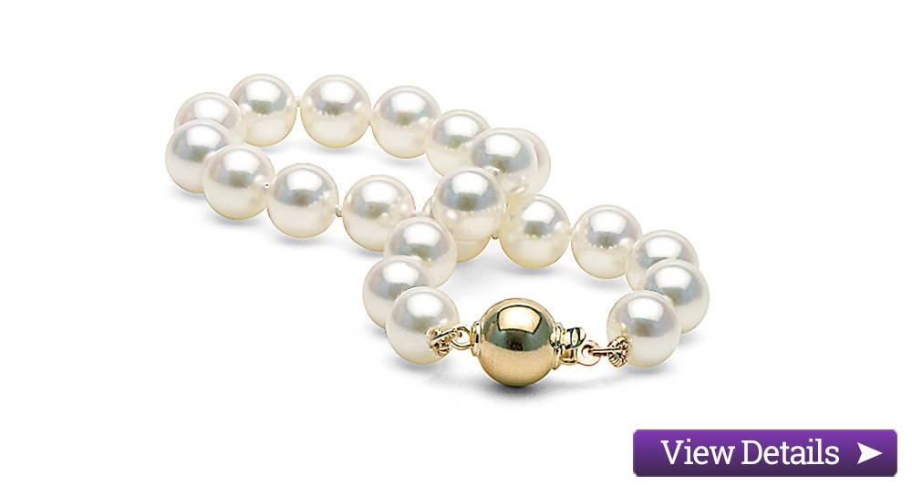 Akoya Pearl Jewelry Styles: Classic Pearl Bracelets