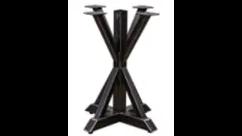 pedestal X table base